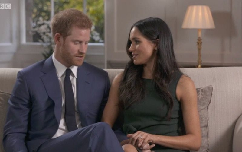 Meghan and Harry's engagement interview