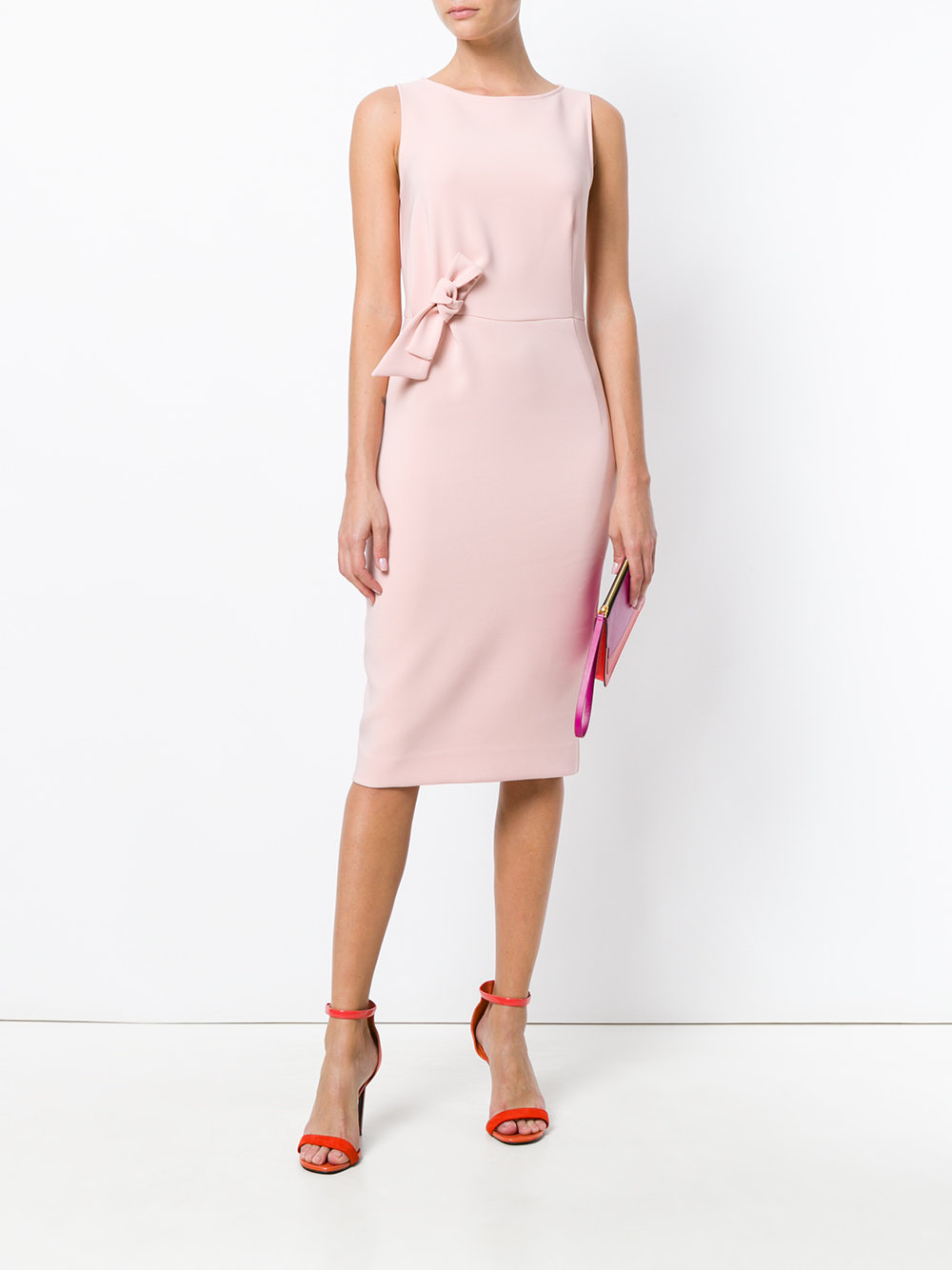 P.A.R.O.S.H. bow dress in pink