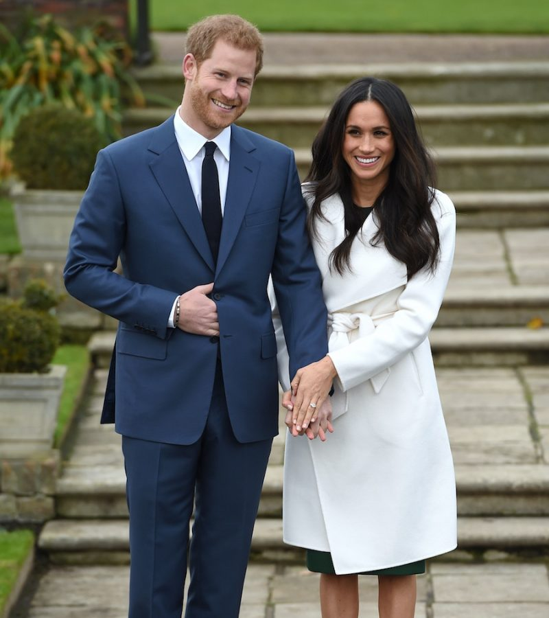 Meghan Markle's outfit at the engagement announcement photocall