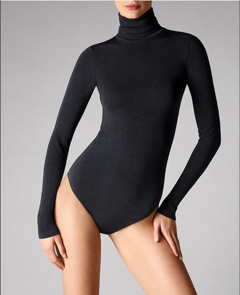 Wolford body suit in black