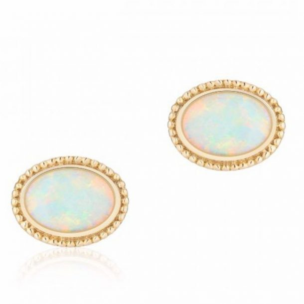 Meghan Markle's Birks Opal Earrings from the engagement announcement