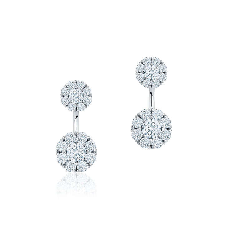 Birks Snowflake earrings