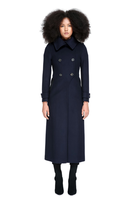 Mackage Elodie Coat in Navy