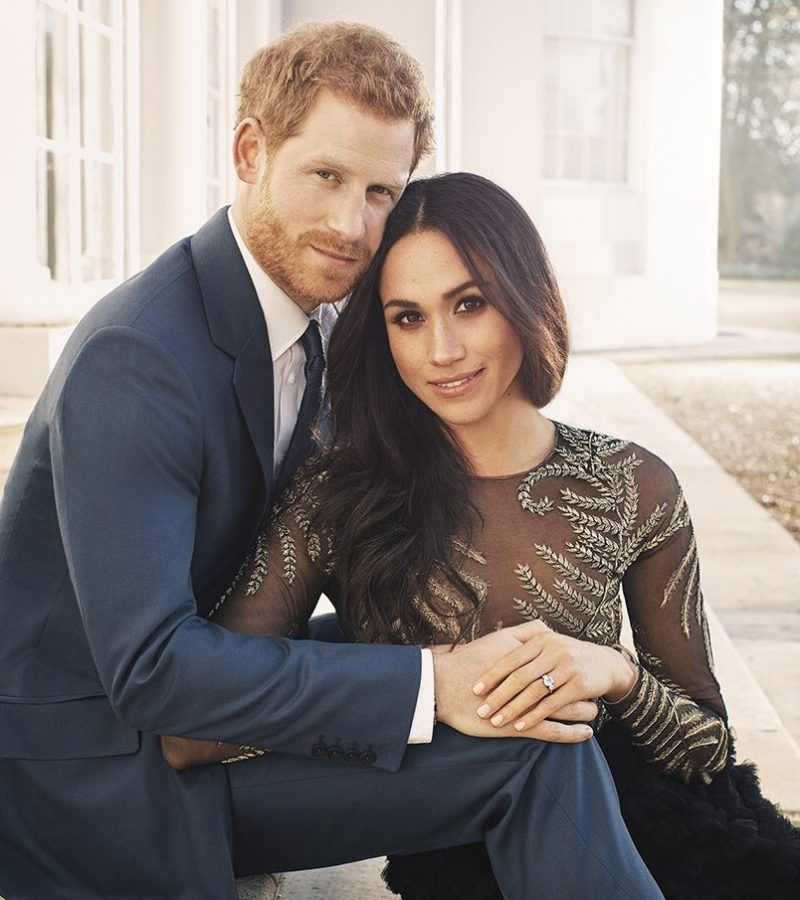 Meghan and Harry's official engagement photos