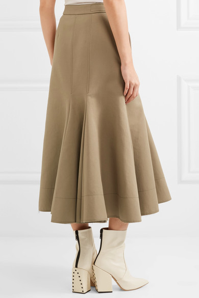 The back of Meghan Markle's Joseph Laurel skirt