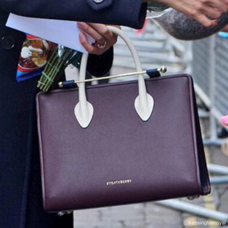Meghan Markle's Strathberry bag from Nottingham