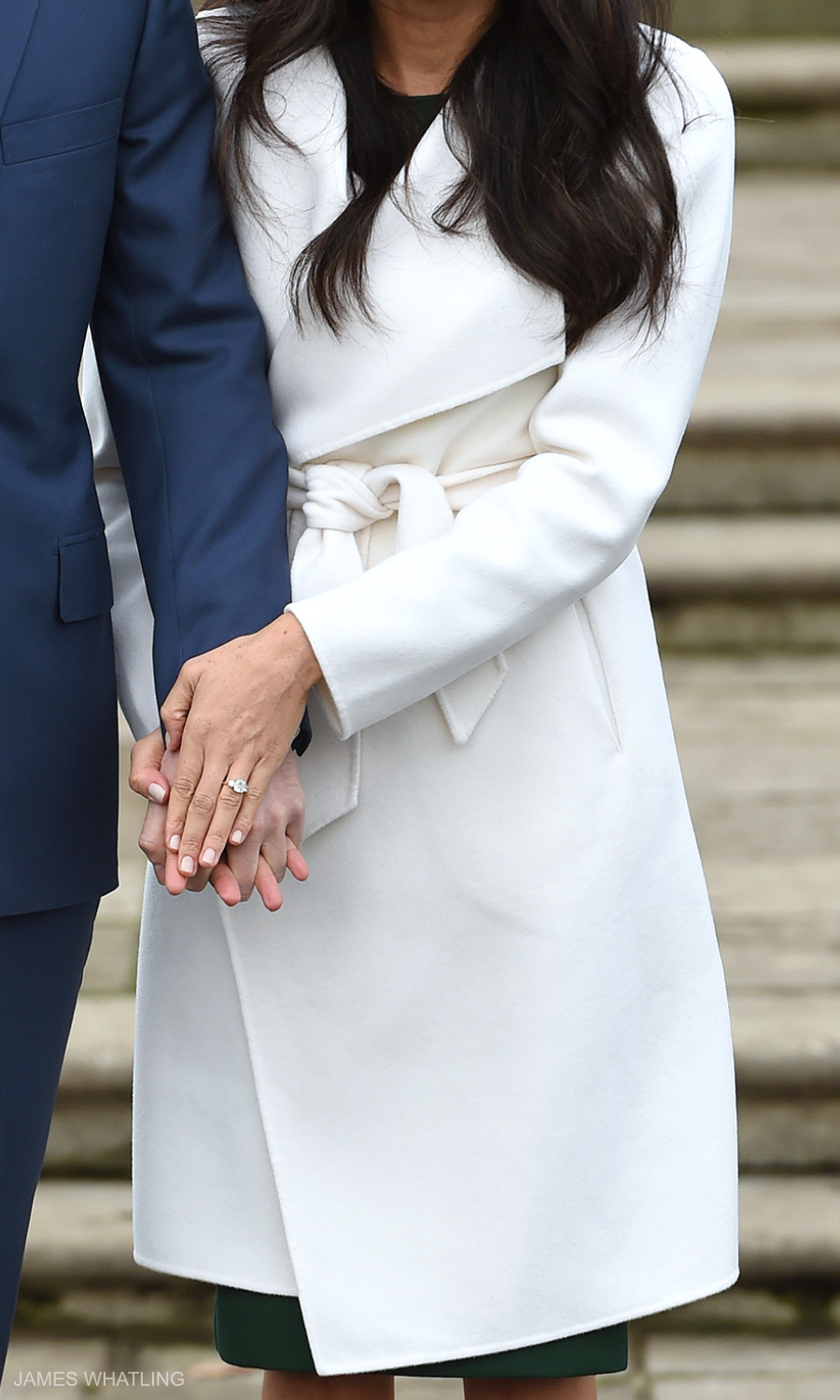 Meghan Markle's coat from the engagement announcement photocall