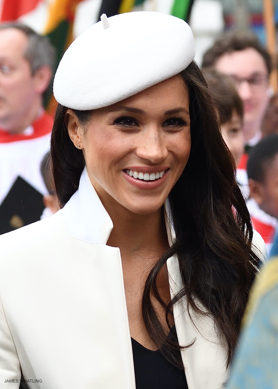 Meghan Markle at the 2018 Commonwealth Day Service at Westminster Abbey
