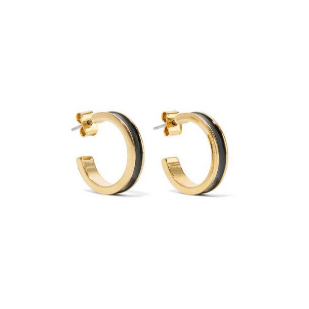 Isabel Marant Enamel Hoop Earrings