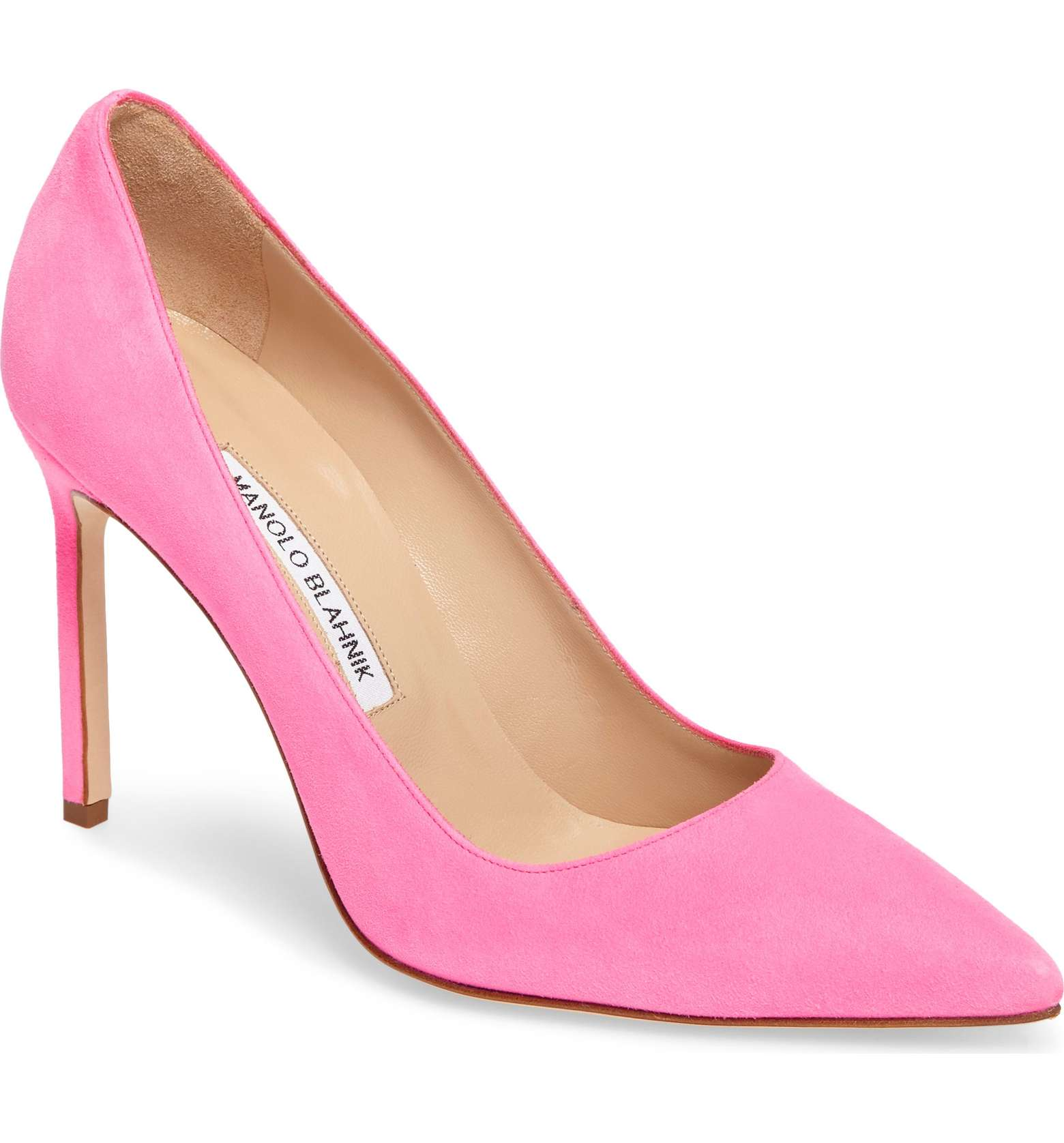 Manolo Blahnik BB Pumps in Pink