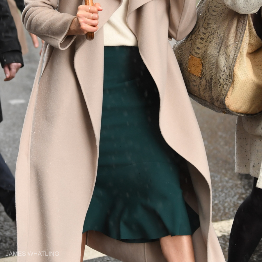 Meghan Markle wearing the Greta Constantine Kace Skirt