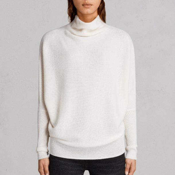 Meghan Markle's white All Saints Ridley sweater