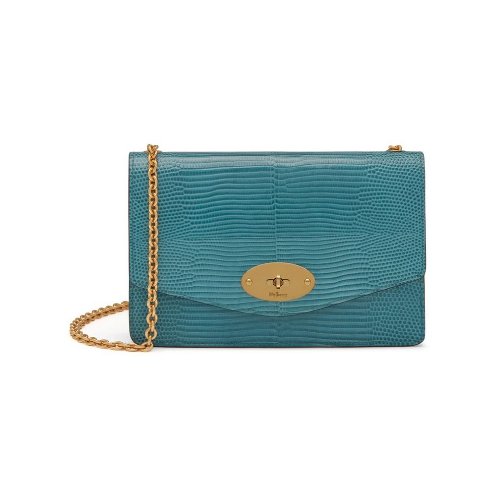 Mulberry Darley bag in Frozen Lizard