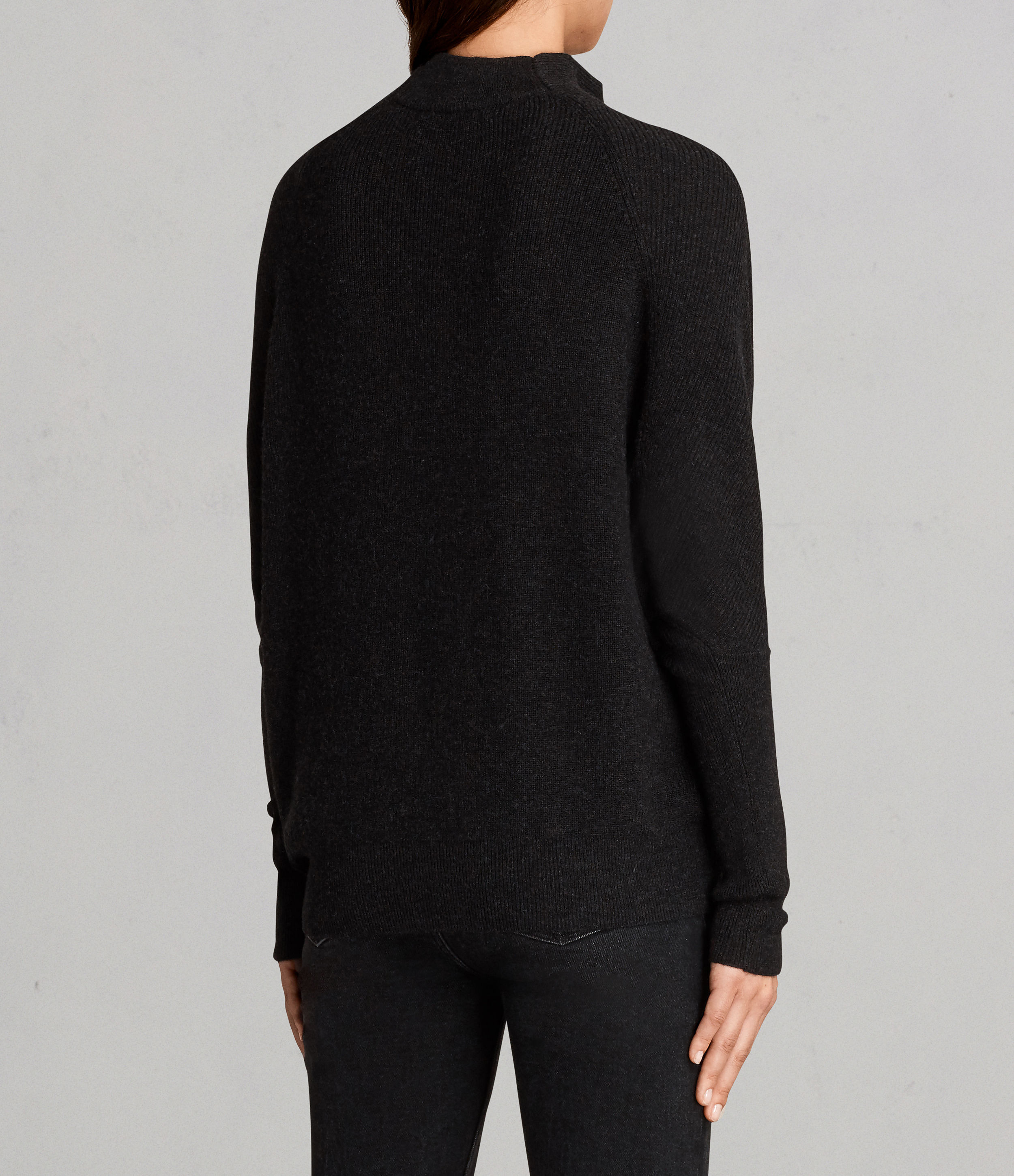 Black All Saints Ridley Sweater