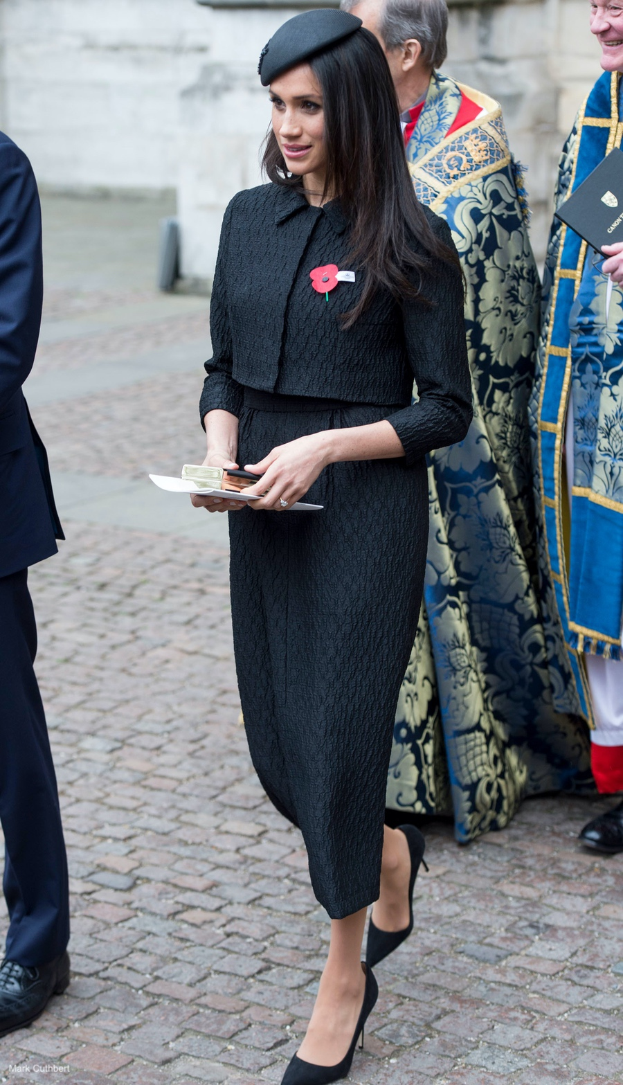 Meghan Markle's outfit during the ANZAC Day service at Westminster Abbey