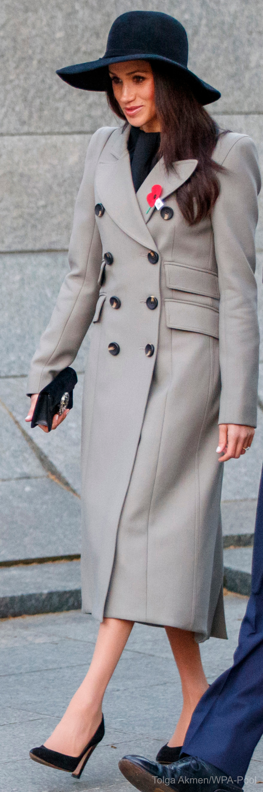 Meghan Markle's outfit at the Anzac Day dawn service