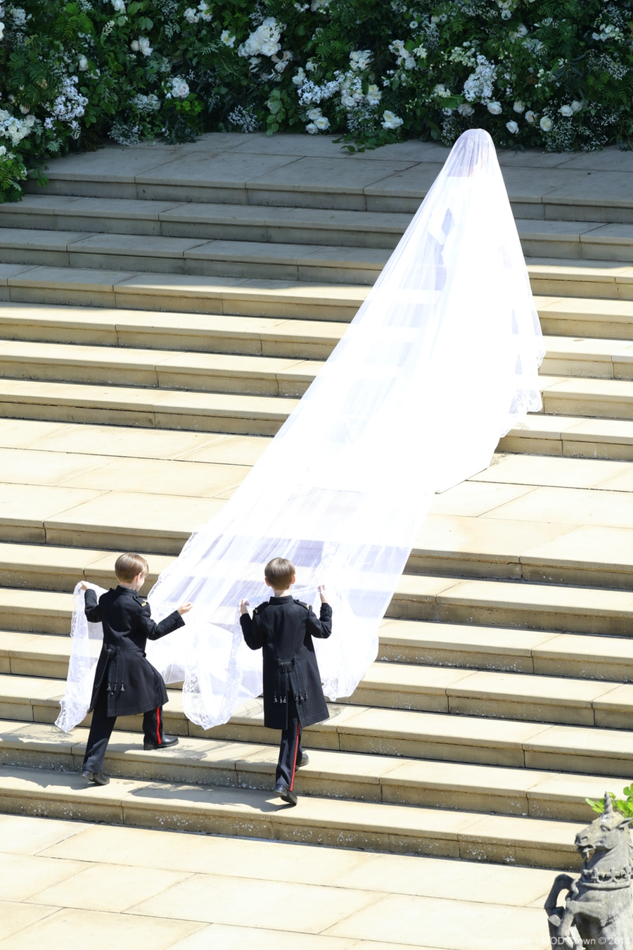 Meghan Markle's veil was 5 meters long