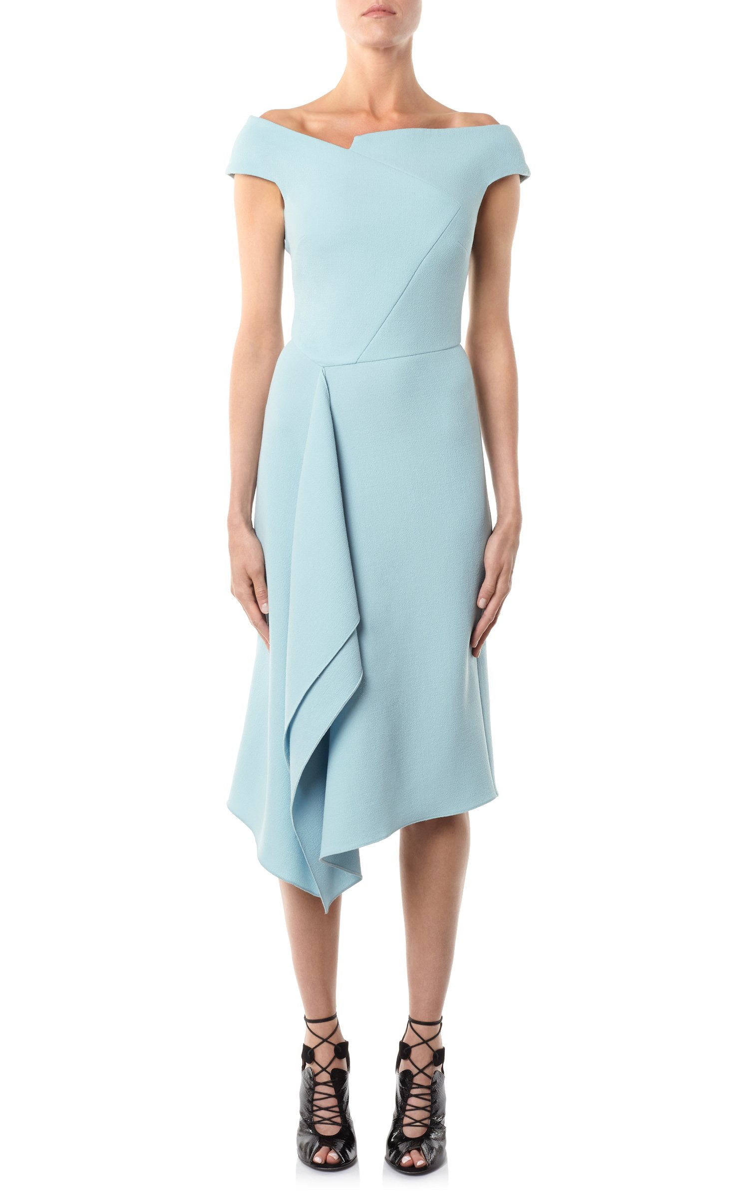 Roland Mouret Barwick dress in blue