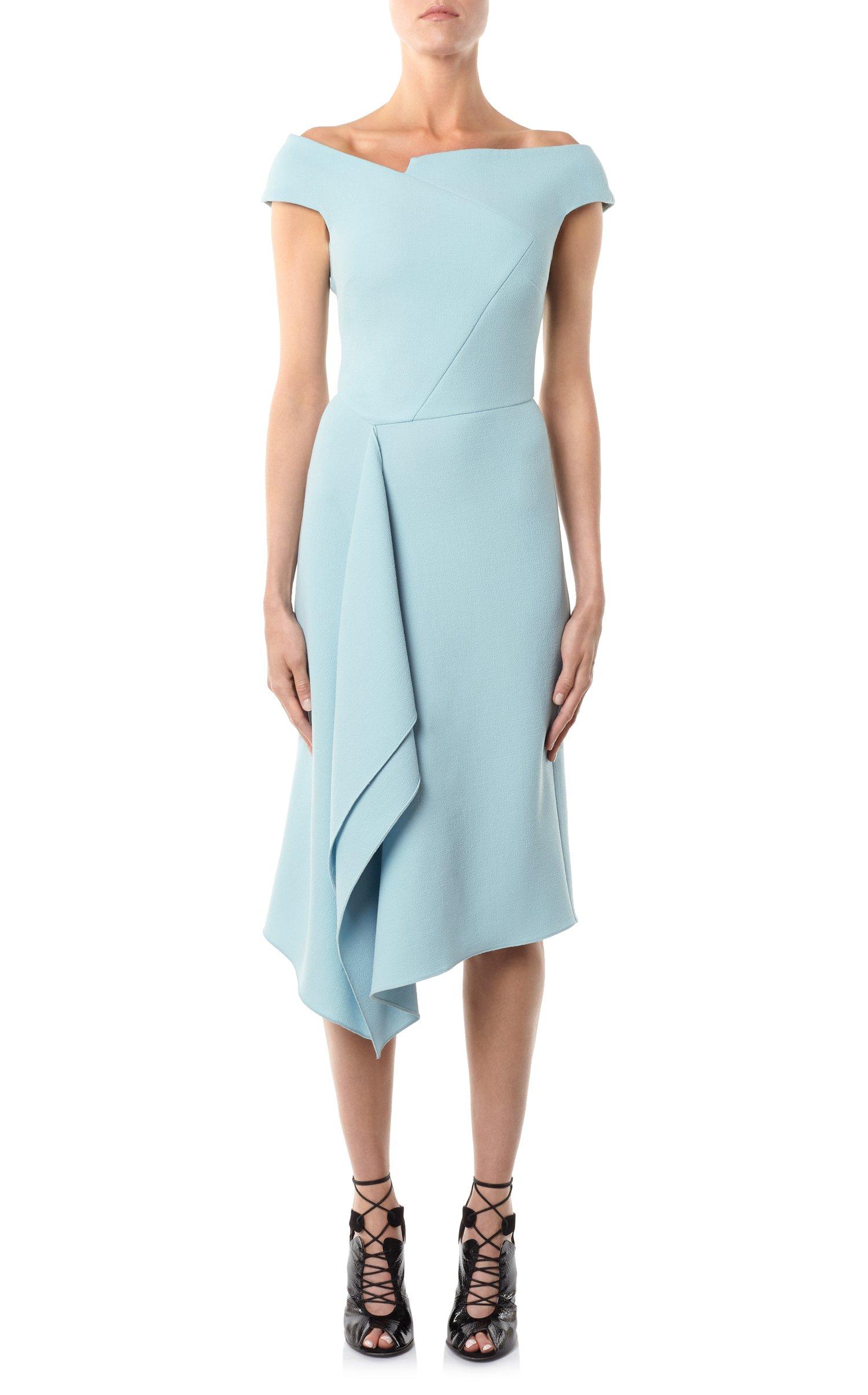 Roland Mouret Barwick dress in blue