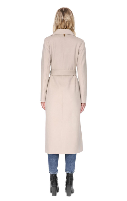 MACKAGE MAI coat in Sand (back)