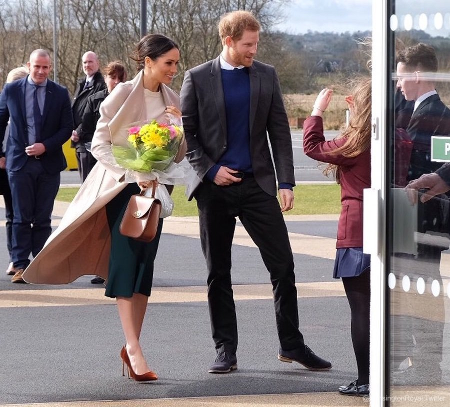 Prince Harry and Meghan Markle visit Belfast, NI