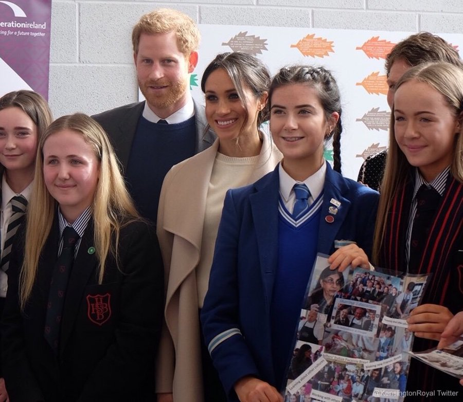 Meghan and Harry visit Belfast in NI