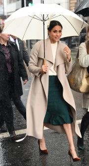 Meghan Markle's outfit in Belfast, Northern Ireland