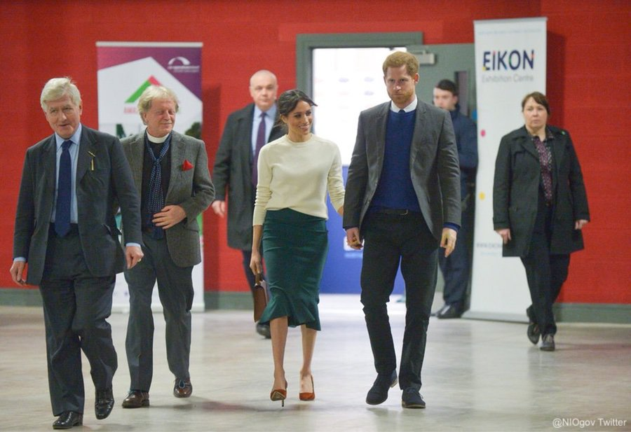 "Meghan and Harry visit ""Amazing the Space"""