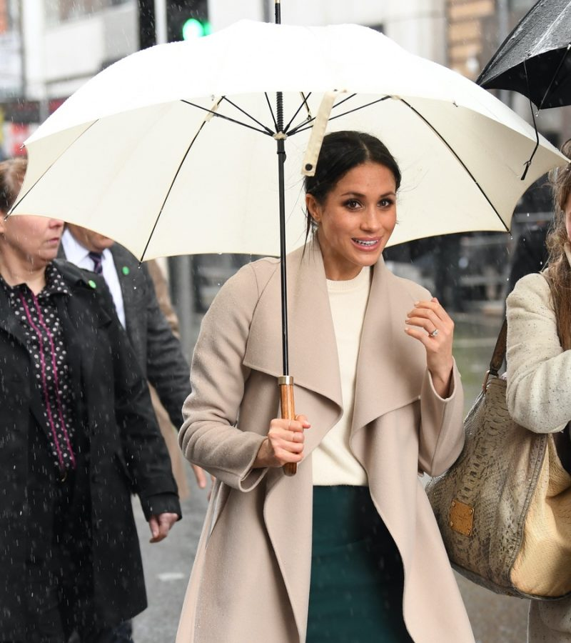Meghan makes a surprise visit to Belfast, Northern Ireland!