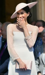 Meghan Markle at the Garden Party