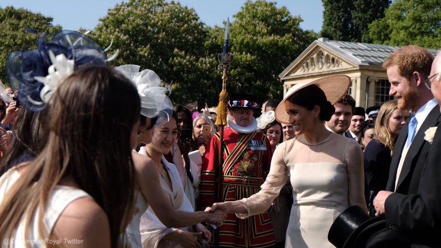 Meghan Markle at her first Garden Party