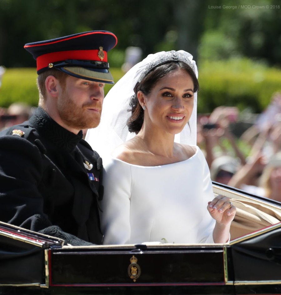 Meghan Markle's tiara on her wedding day
