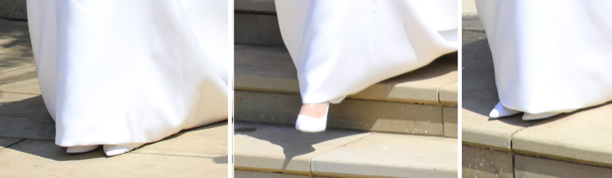 Meghan Markle's wedding shoes