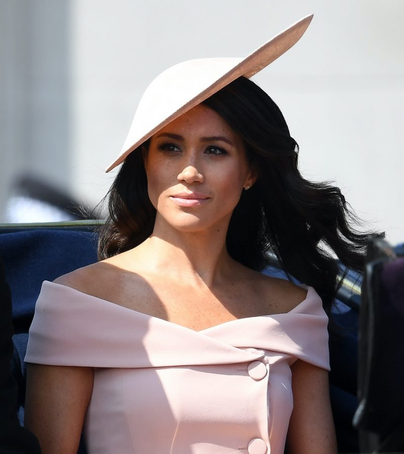 Meghan celebrates the Queen's birthday at Trooping the Colour